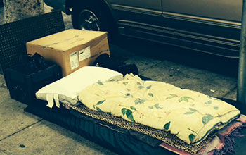 homeless-bed